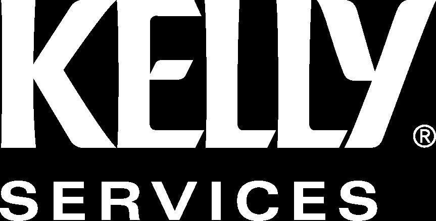 logo kelly services- blanco